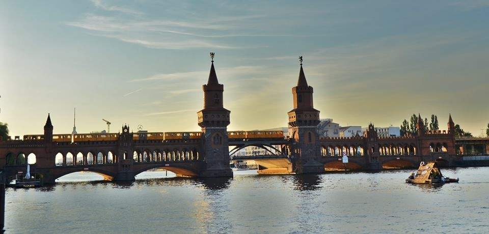 Kreuzberg Bridge - Berlin, Germany | Summer in Berlin